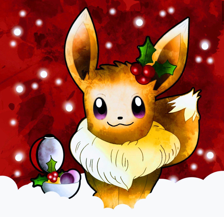 Pin By Mudkipes On Pokemon Christmas Pokemon Anime Christmas Pokemon Eeveelutions