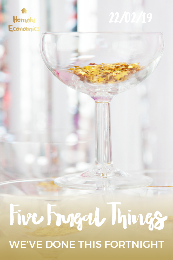 Five frugal things we've done 22/02/19 - selling on eBay, getting bargains on fuel and cat food, and learning to love a grocery budget. #fivefrugalthings #frugalthings #frugallifestyle #frugalliving #moneysavingtips #moneysavers
