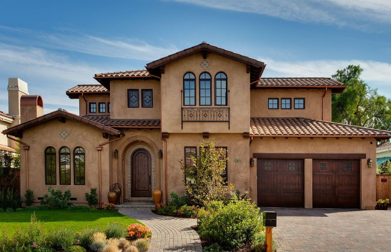 How To Get That Spanish Stucco Look Tuscan Style Homes Spanish Style Homes Tuscan House