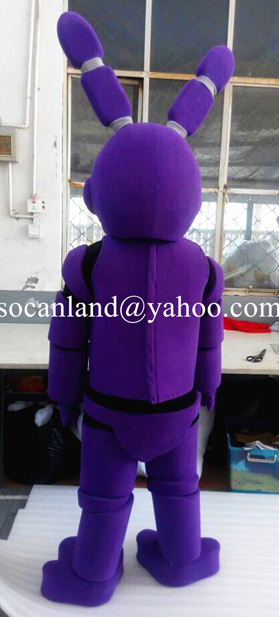 Fnaf bonnie costume for sale - Toy Bonnie Mascot Costume From Five Nights At Freddy S Toy Bonnie Cosply Costumes For Halloween