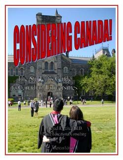 Our latest publication for US counsellors and students considering Canadian universities.