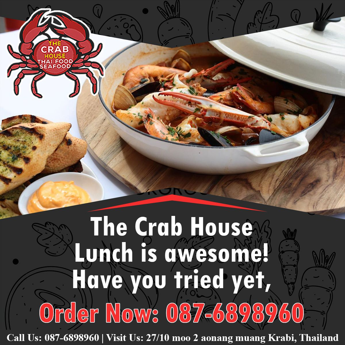 The Crab House Lunch 😋