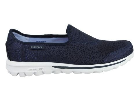 skechers go walk untamed womens casual shoes  brand house