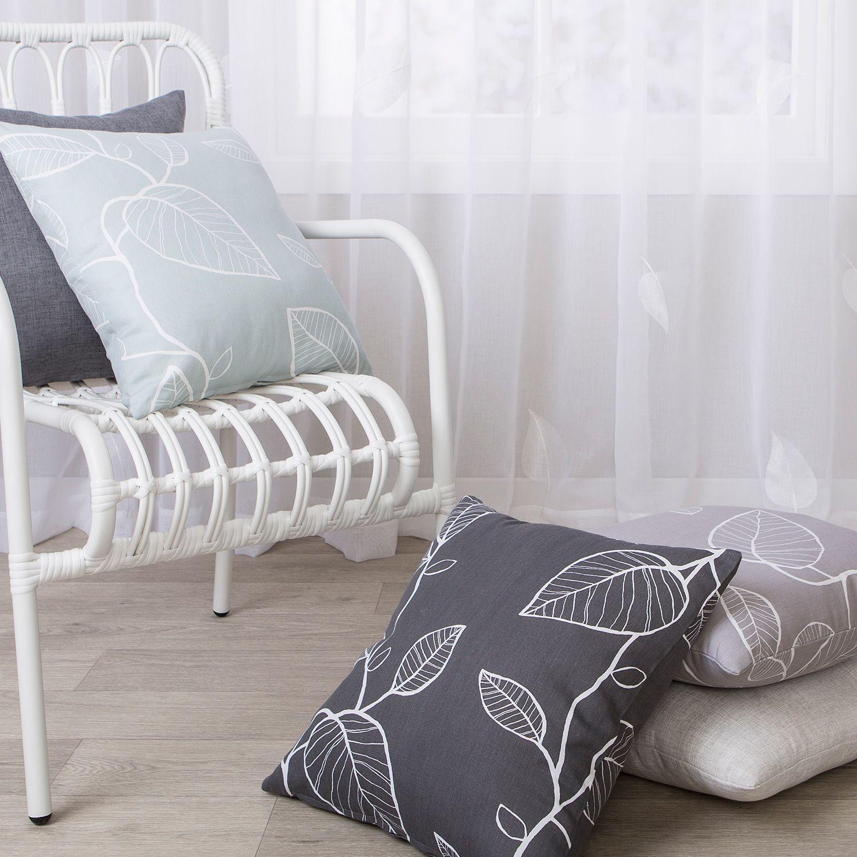 Jasper Concrete - Cushion - Curtain Studio buy curtains ...