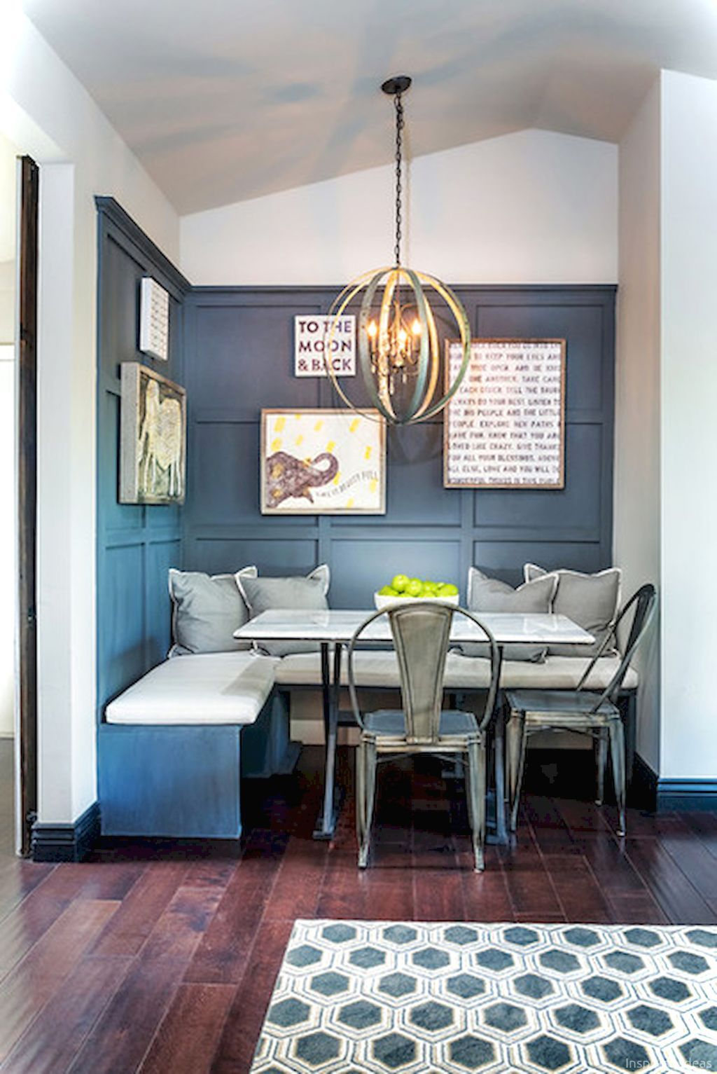 80 awesome banquette seating ideas for your kitchen dining room small dining room remodel on kitchen interior small space id=96507