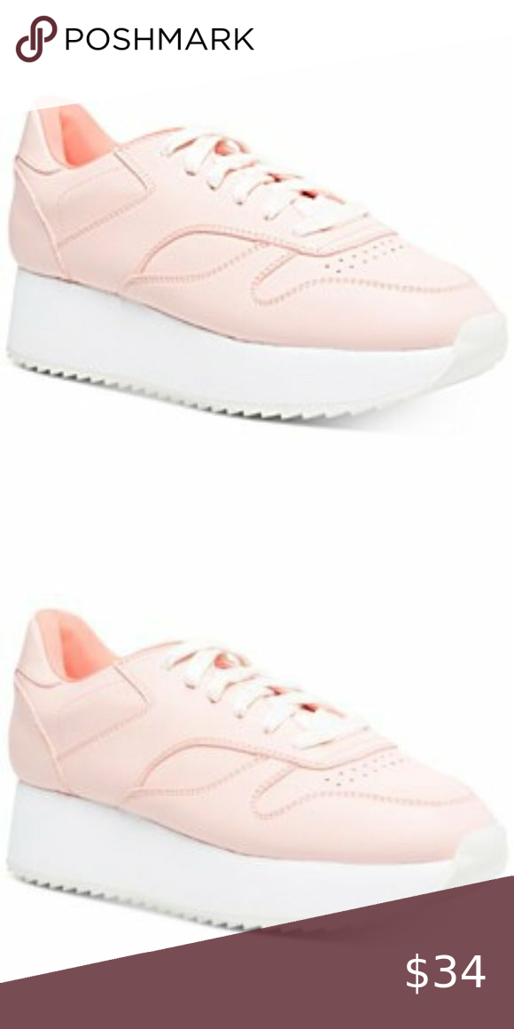 Madden Girl Pink Angeles Trainers Size