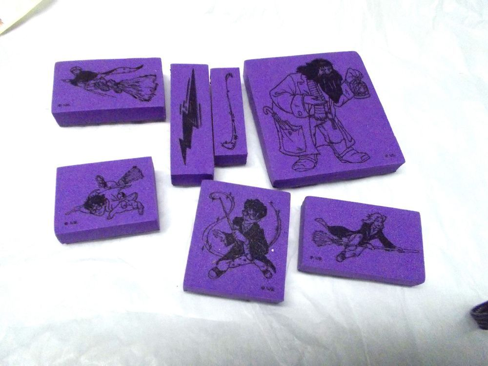 Harry Potter Rubber Stamps Lightning Bolt Foam Mounted Stickers Too Characters Allnightmedia Harrypotter Stamp Crafts Stamp Harry Potter