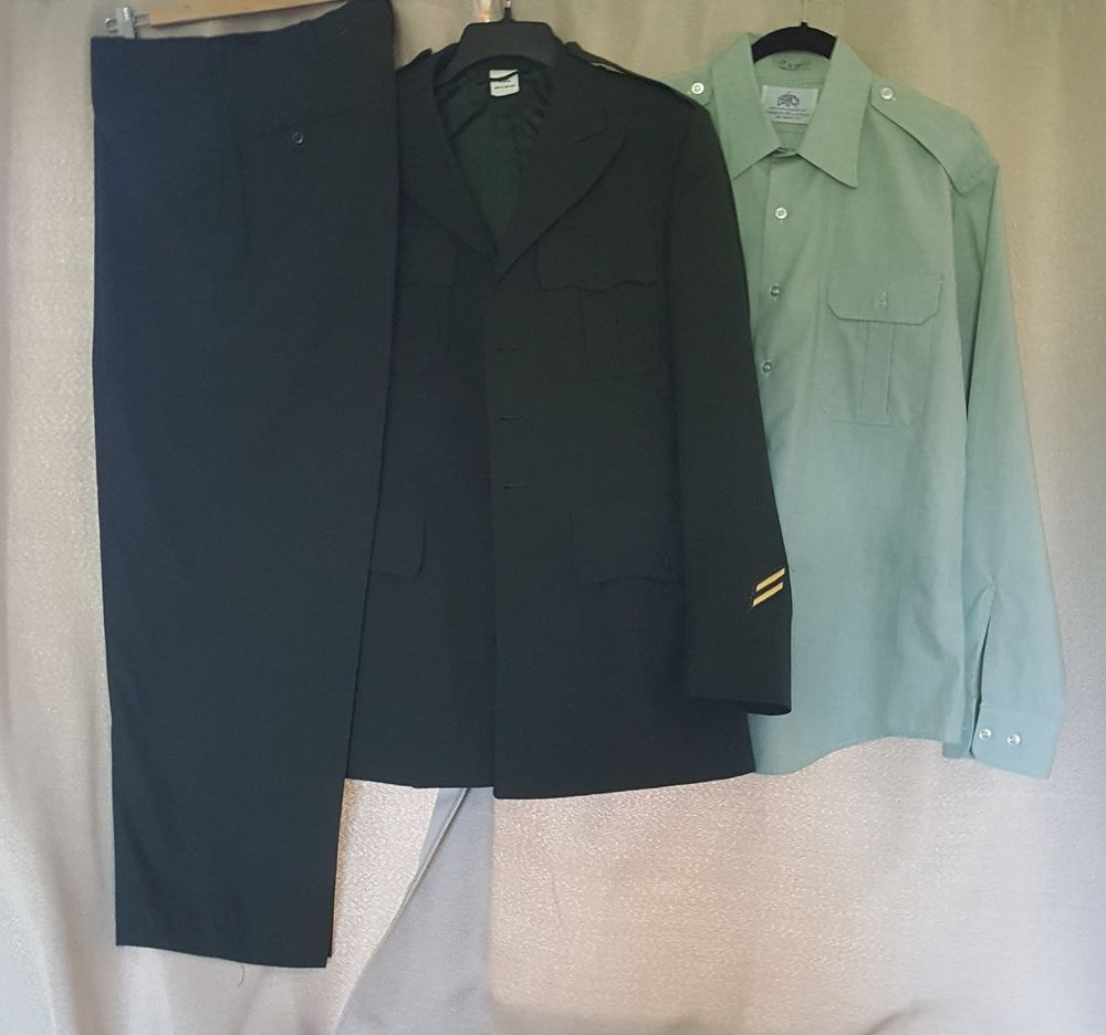 Us army green dress uniform jacket shirt pants