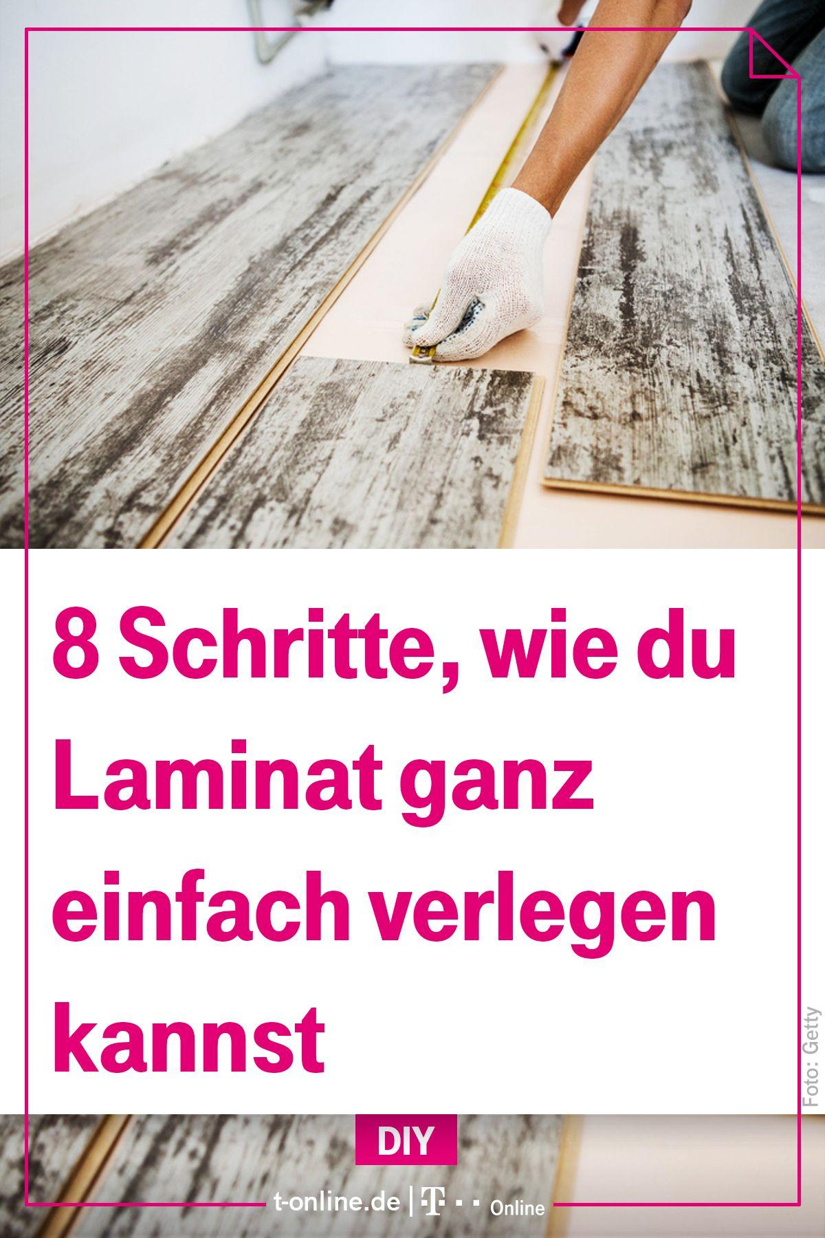 So Konnen Sie Laminat Einfach Selbst Verlegen Haus Handwerken
