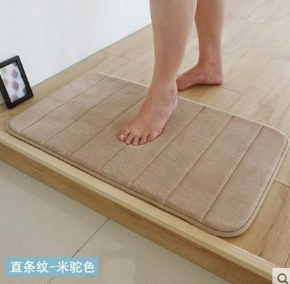 Extra Large Memory Foam Anti Skid Bath Mat Super Soft Bathroom Rugs C Velvet