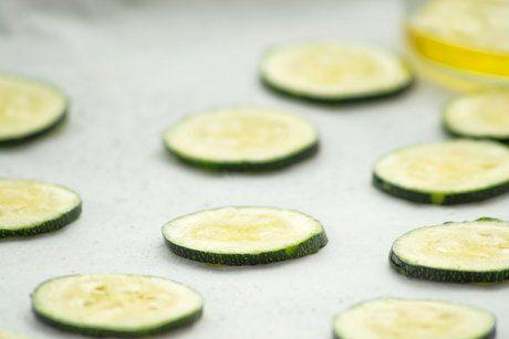 Zucchini-Chips - Rezept