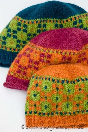 Square Riot colorwork hats for the whole family!
