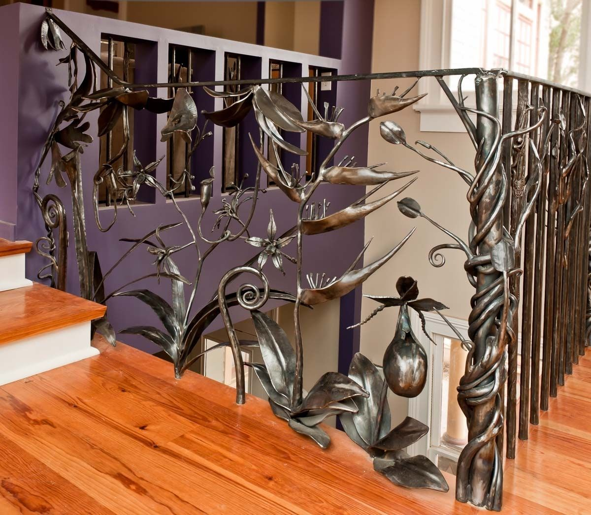 Best Custom Made Railings Iron Railings Outdoor Metal Stair Railing 400 x 300