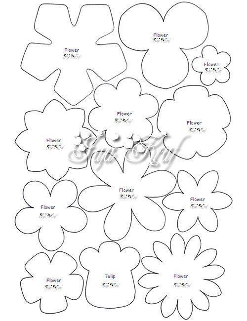 Moldes flores naty pinterest felting template and tutorials mightylinksfo