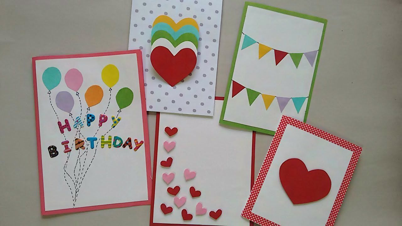 cute u easy greeting cards srushti patil cards pinterest
