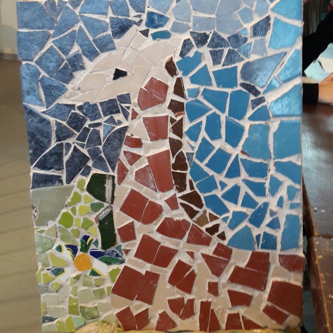Mosaik. Giraffe. Von Johanna
