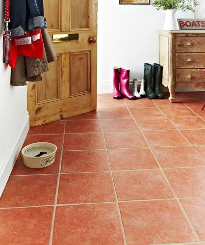 Terracotta Floor Tile For Your Kitchen Interior Design Terracotta Floor Decorative Floor Tile