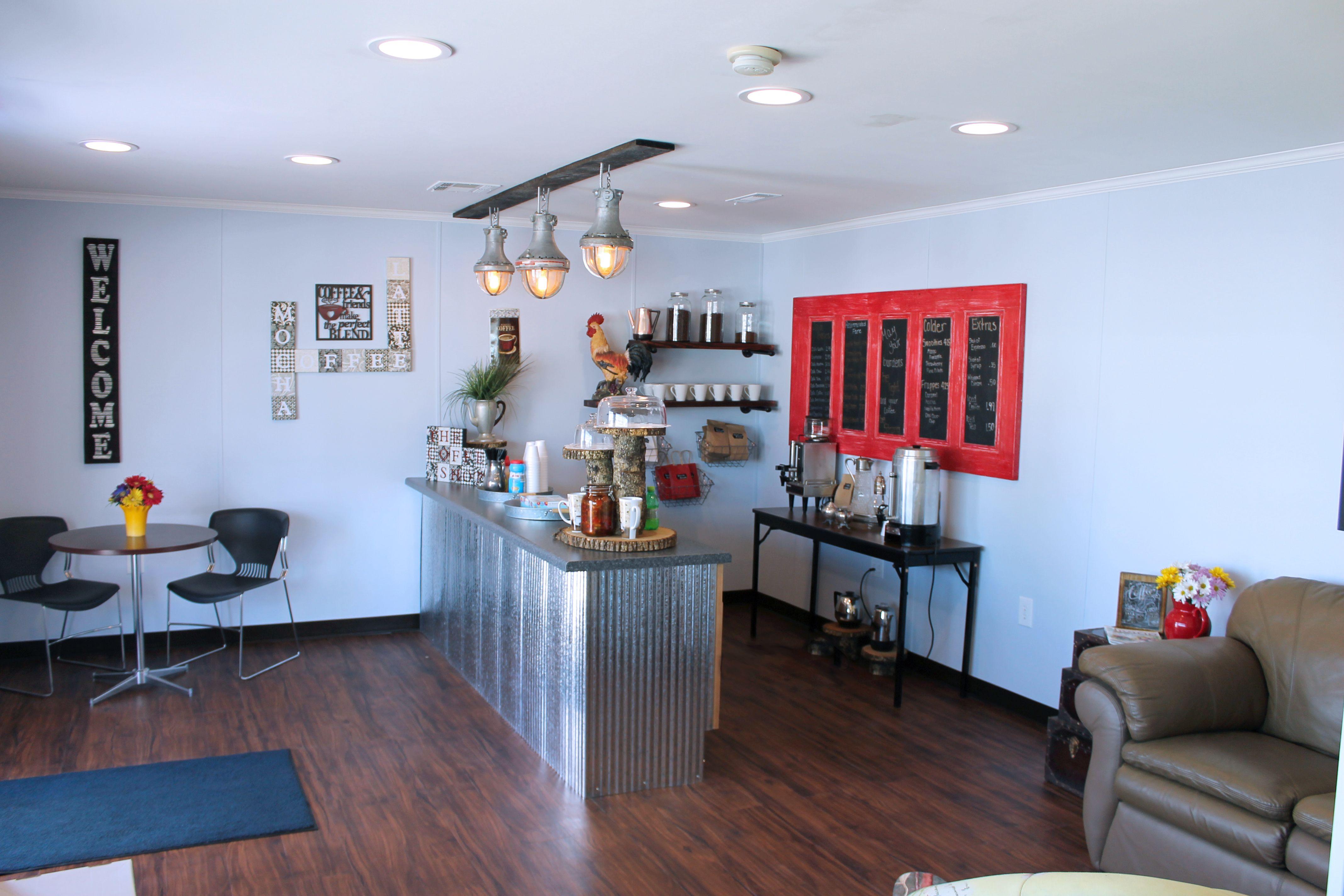 commercial modular coffee shop interior design