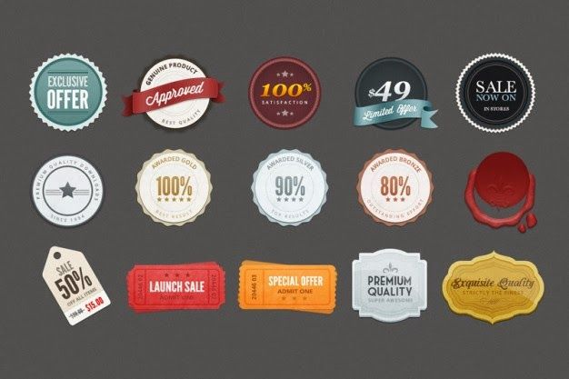 55+ Best Free PSD Badge Templates for Download Icons Pinterest - abel templates psd