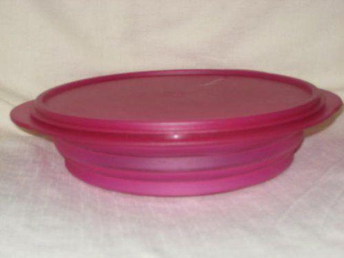 Tupperware Flatout Container Bowl W Lid 8 1 4 Cups Pink By Tupperware 16 59 Tupperware Flatout Home Kitchens Kitchen Storage Organization Kitchen Dining