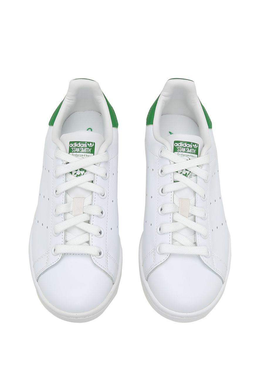 Adidas Beyaz Yesil Kadin Stan Smith Beyaz Yesil Kadin Sneaker 185291 Beymen Sneaker Kadin Adidas