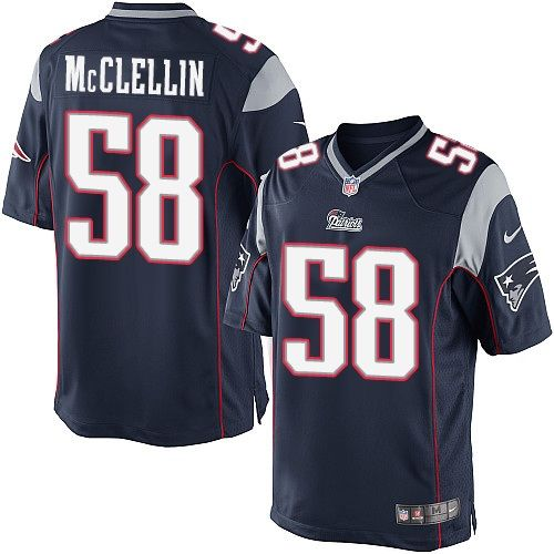 de3142622 Men s Nike New England Patriots  58 Shea McClellin Limited Navy Blue Team  Color NFL Jersey