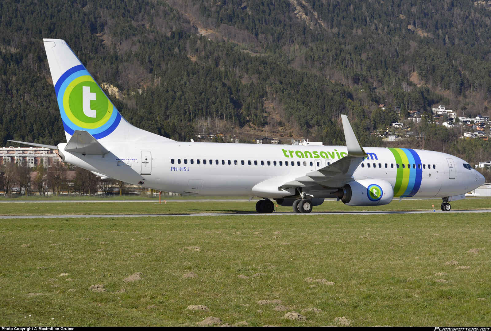 PH-HSJ Transavia Boeing 737-800