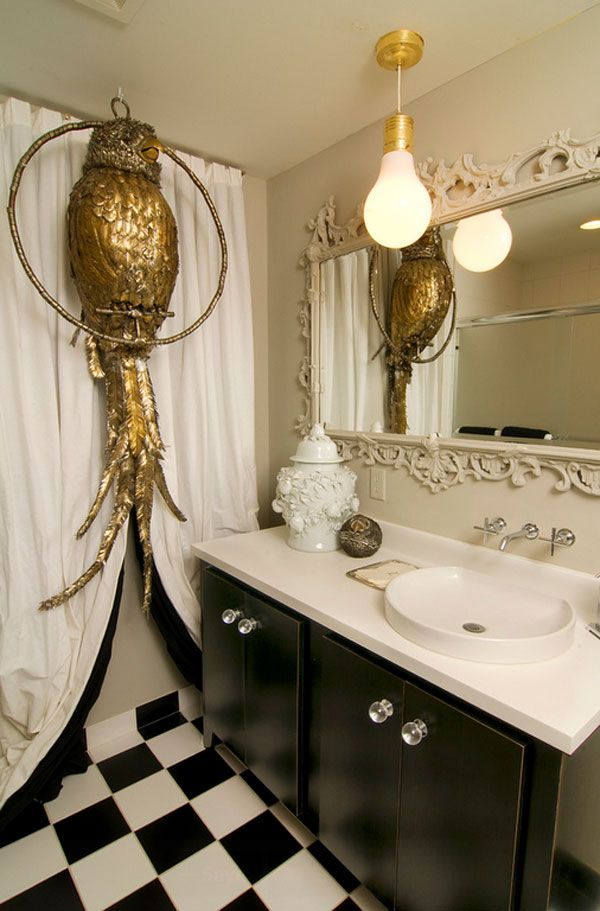 22 Eclectic Ideas Of Bathroom Wall Decor