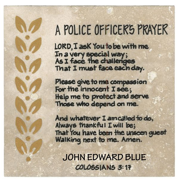 Quotes About Law Enforcement Quotesgram Police Officer Prayer Law Enforcement Quotes Law Quotes