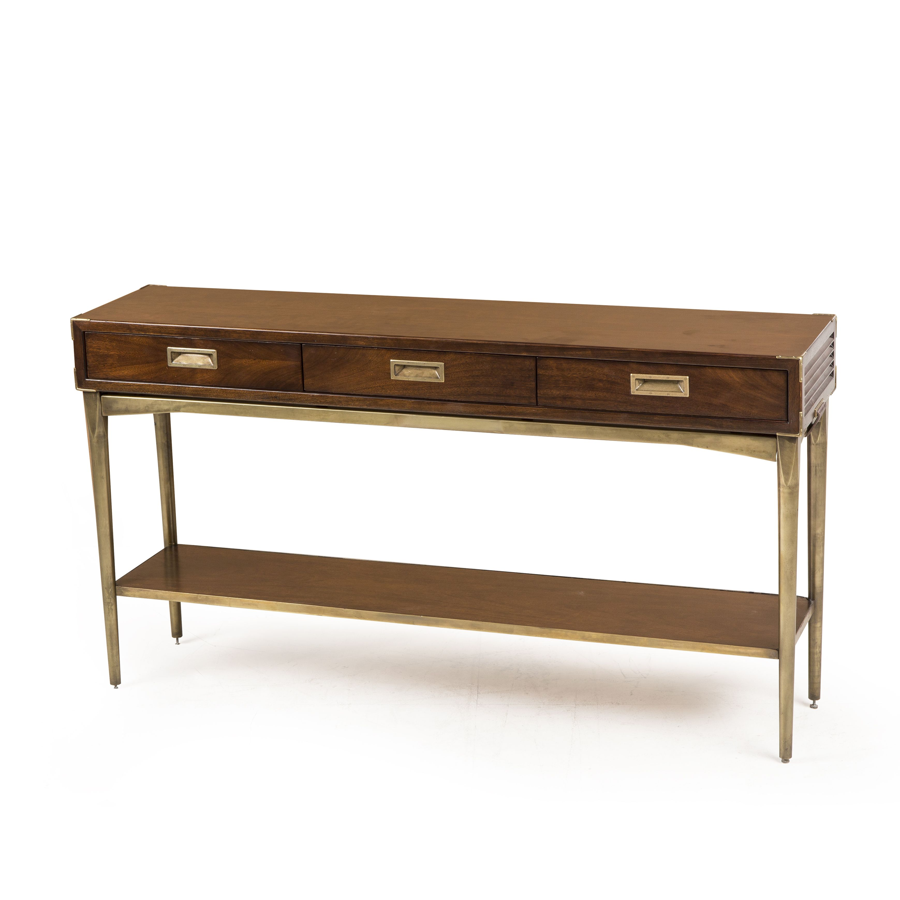 Living room durham collection durham console table a slim living room durham collection durham console table a slim console with louvered sides geotapseo Images