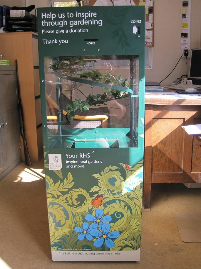 Looking for a Unique Donation Box? We can design and manufacture your bespoke steel donation box in our Dorset workshop. & The Royal Horticultural Society is the UKu0027s leading gardening ... Aboutintivar.Com