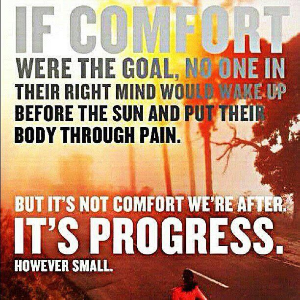 Progress is what counts