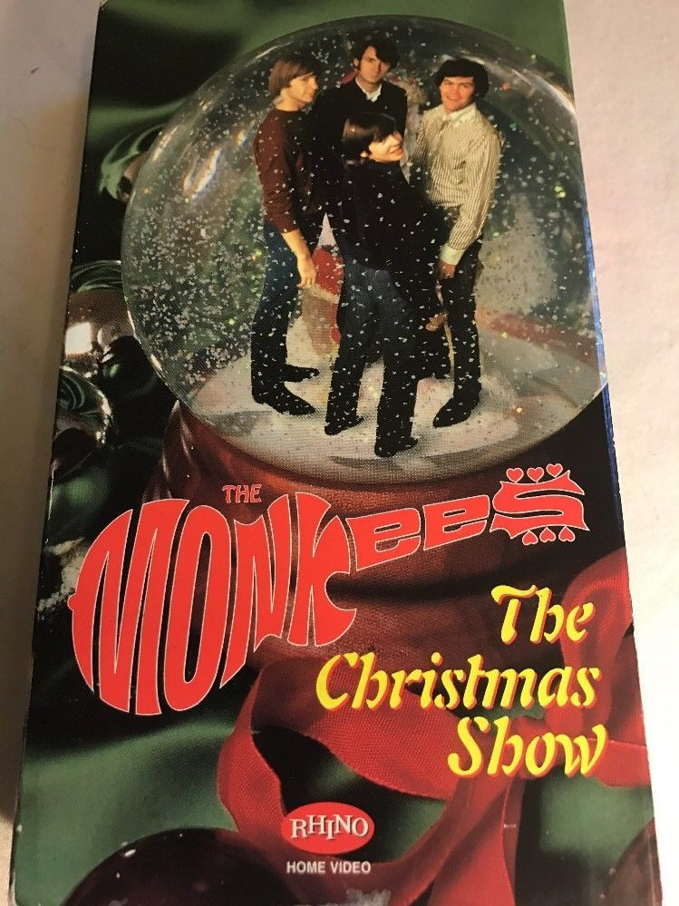 Monkees The The Monkees Christmas Show Vhs 1997 Christmas Shows Christmas Bulbs Christmas