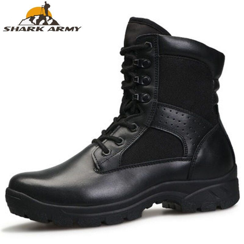 Photo of 2019 Fashion Army Boots Men Military Boots Tactical Combat Boots Waterproof Summer/Winter Desert Boots Black Special Force Shoes