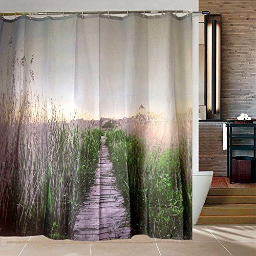 Riverbyland Shower Curtains Reed Path 72 X 80 Riverbyland