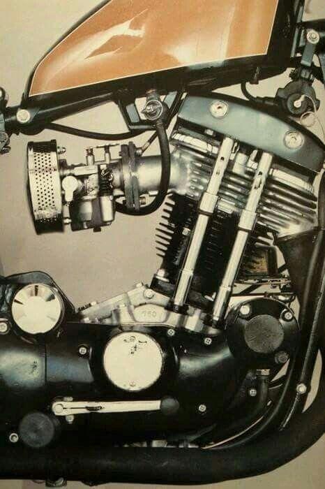 Single cylinder Harley  | Motorcycle engine | Motorcycle