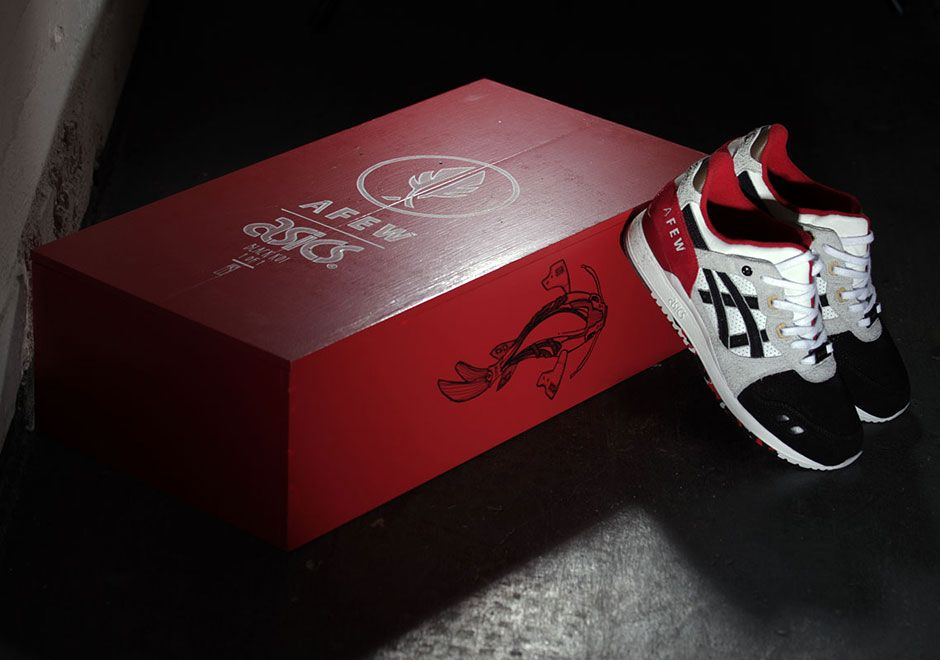 """afew and Asics Created A 1-Of-1 """"Black Koi"""" For Charity Page 2 of 2 - SneakerNews.com"""