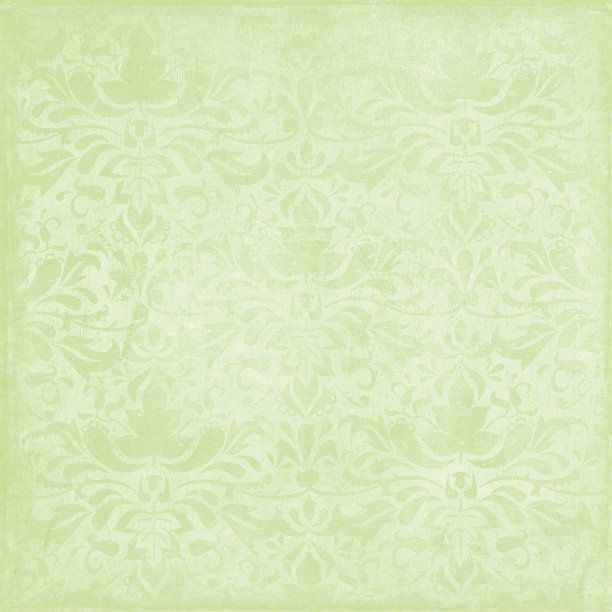 Spring Green Vintage Background