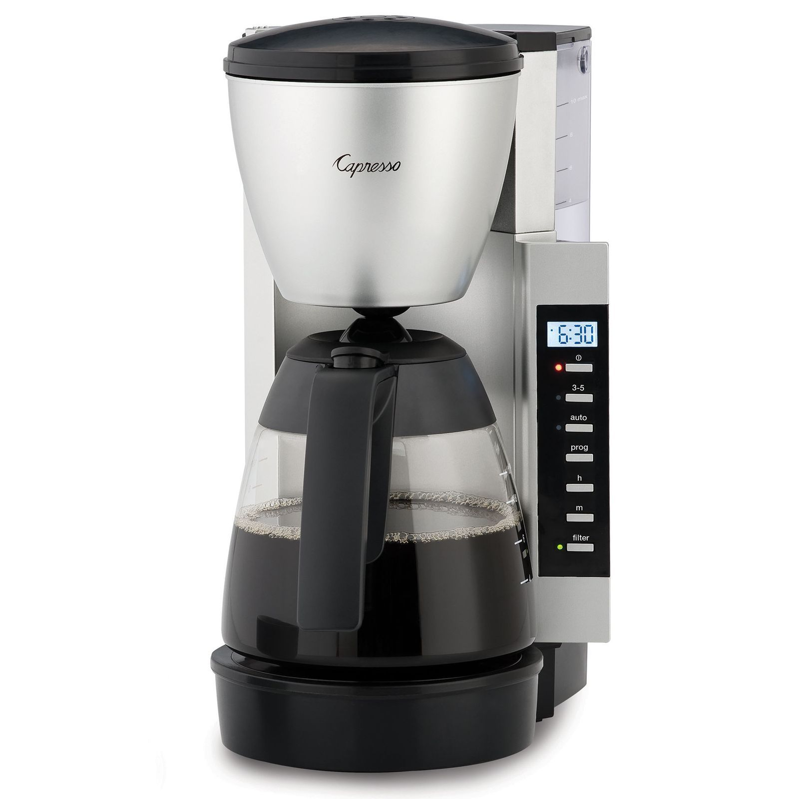 Capresso CM200 10Cup Space Saving Programmable Coffee
