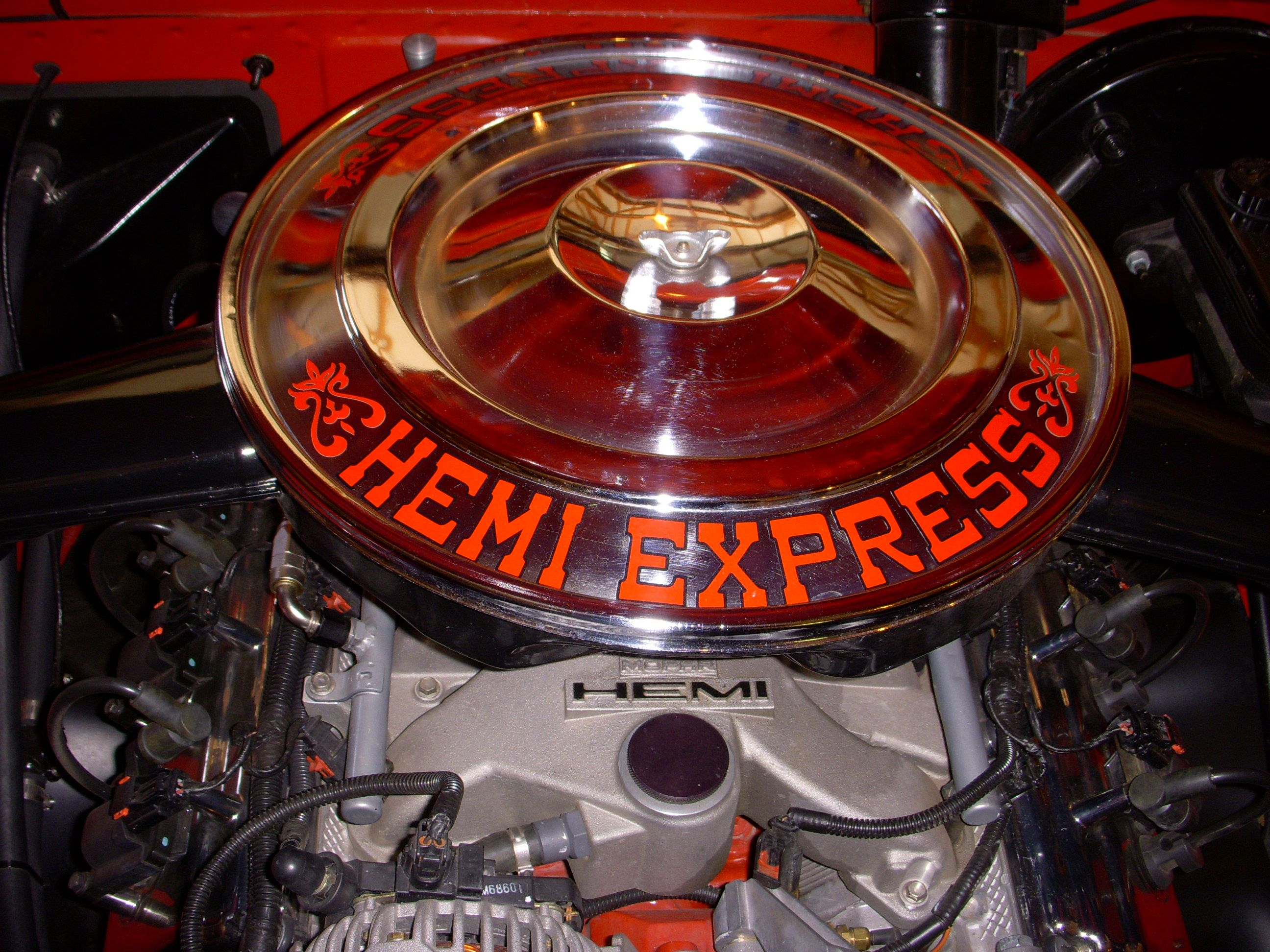 Little red wagon funny car pictures car canyon - Dodge Trucks