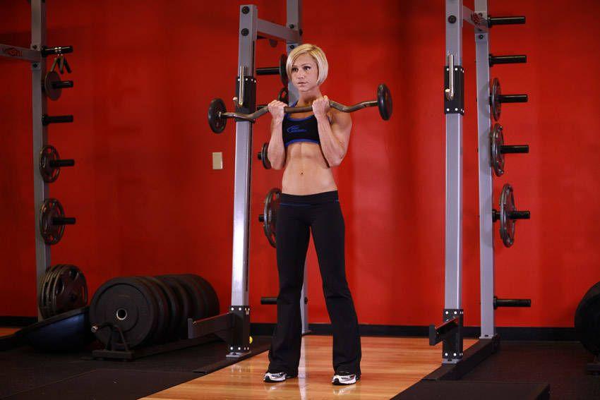 Close-Grip EZ Bar Curl | Bi\'s and Tri\'s | Pinterest | Exercise ...