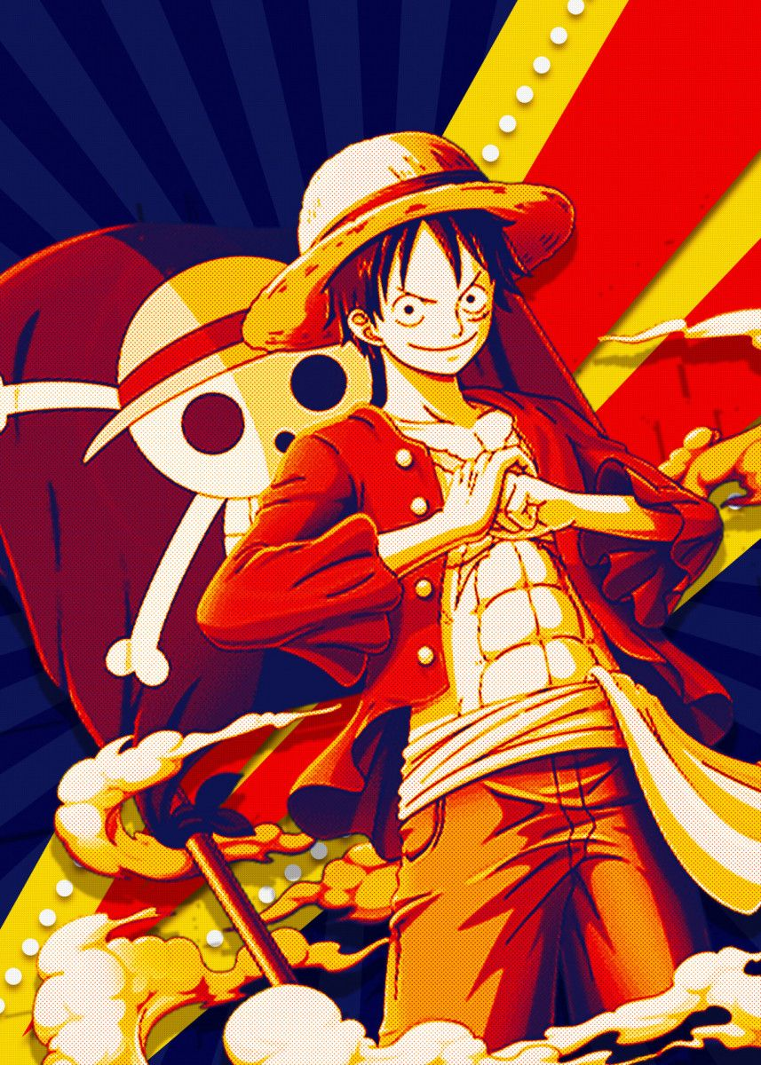 'Monkey D Luffy' Poster Print by Lost Boys Dsgn | Displate