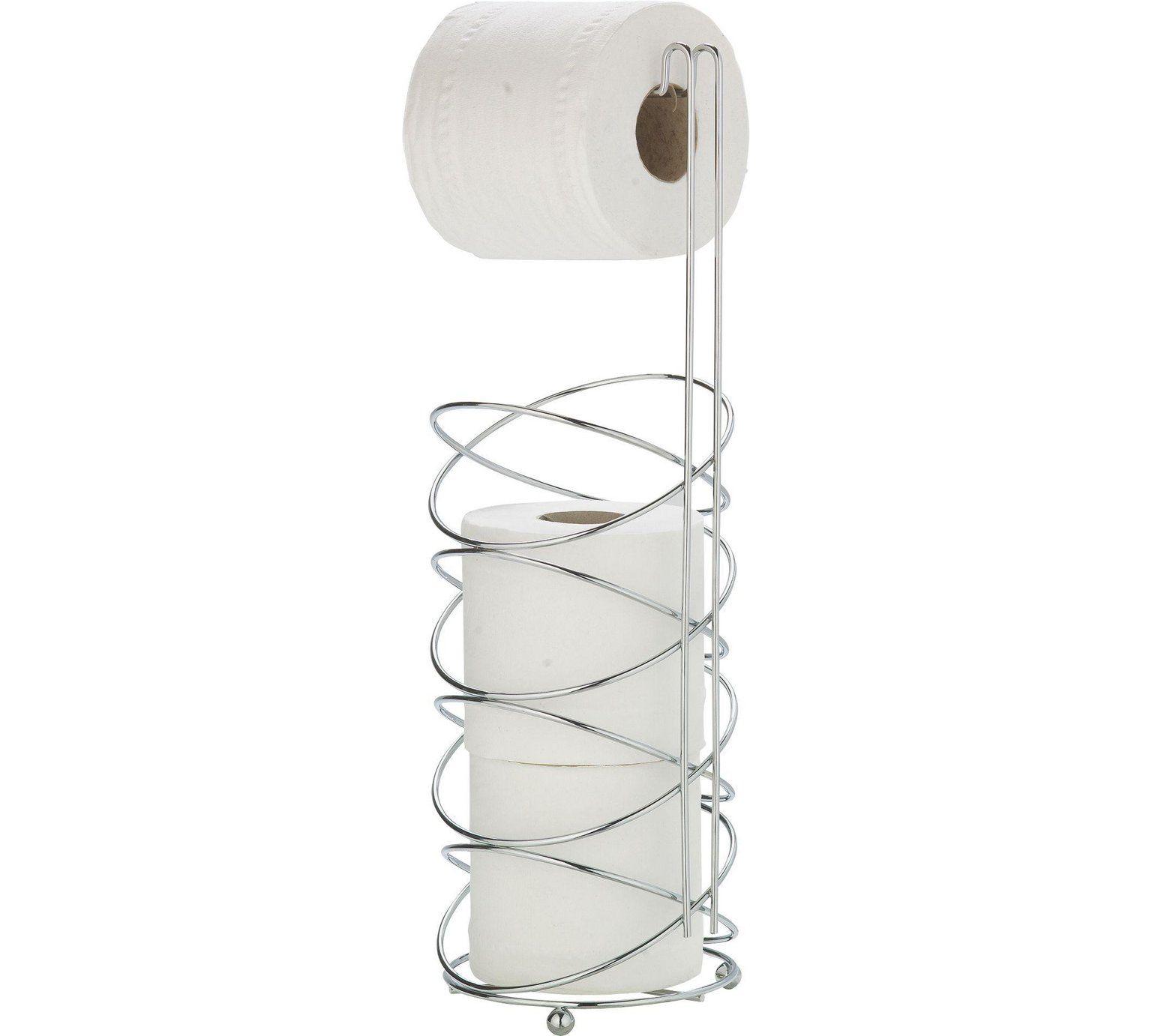 HOME Modern Swirl Toilet Roll Holder - Chrome Plated at Argos.co.uk ...