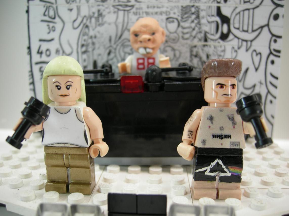 Custom Lego Die Antwoord Yolandi Visser Ninja Dj Hi Tek Zef Mini Figures Ebay