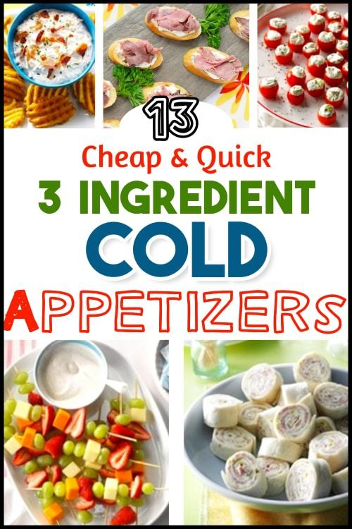 Photo of Easy Cheap and Quick Cold Appetizers For a Crowd