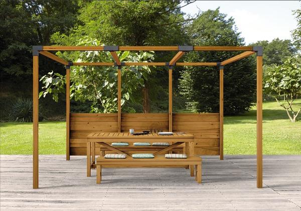 Connecteurs Pour Poteaux Bois Angle Simple Brico Depot En 2020 Poteau Bois Poteau Amenagement Jardin