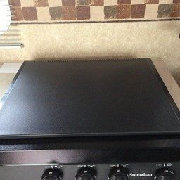 BLACK CAMCO 43554 RV UNIVERSAL FIT STOVE TOP COVER