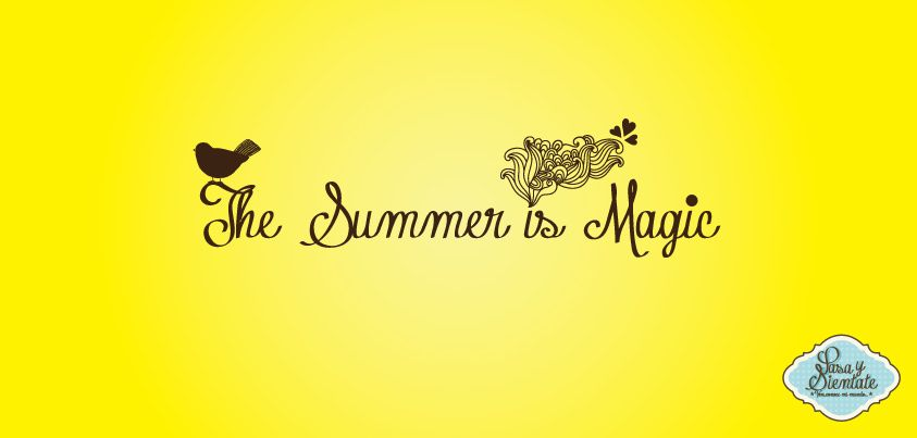 The Summer is Magic // Pasa & Siéntate // https://www.facebook.com/pasaysientate