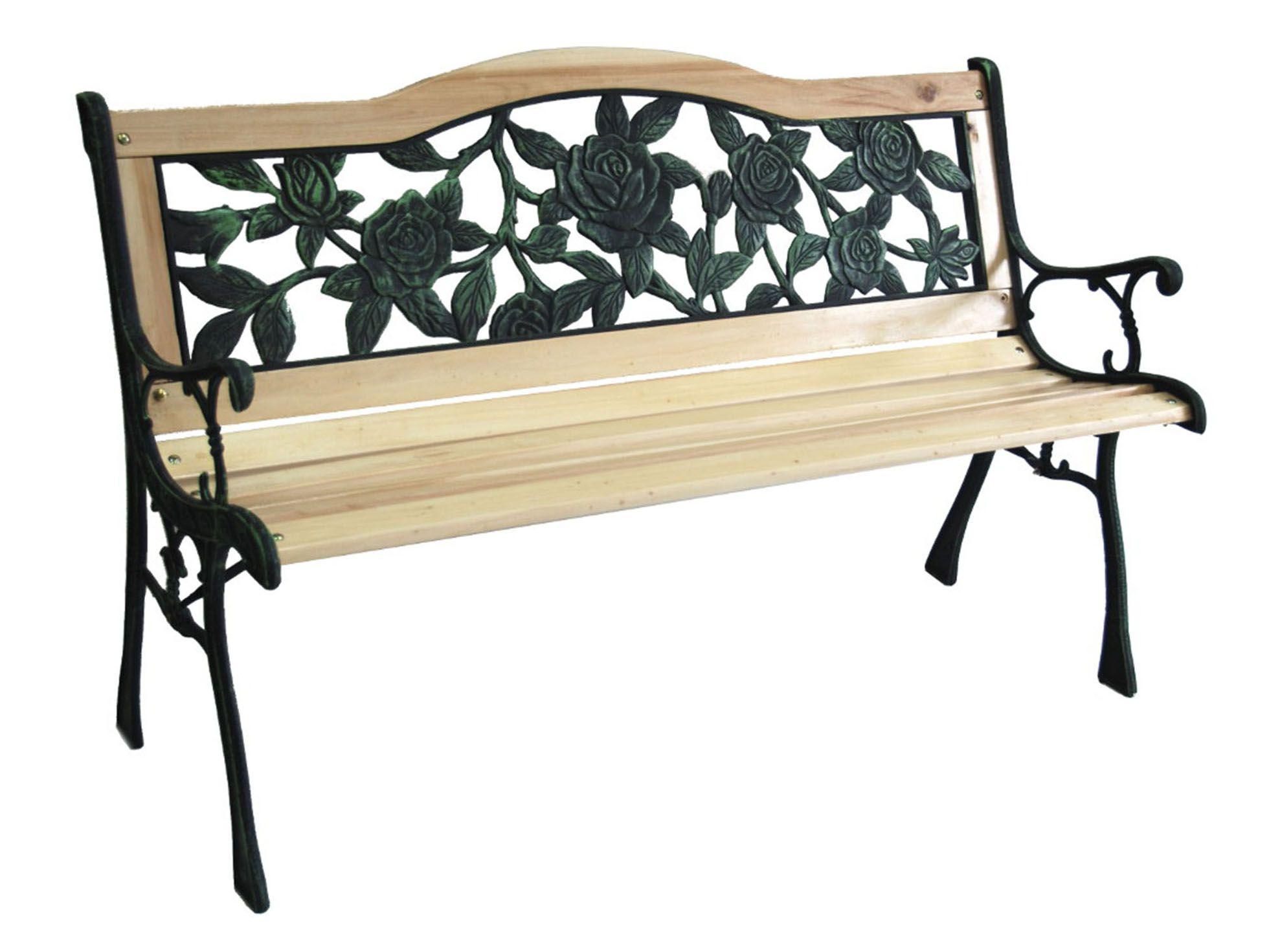 Lawka Ogrodowa Parkowa Laweczka Drewniana Zeliwna 7881518917 Oficjalne Archiwum Allegro Outdoor Furniture Outdoor Decor Decor