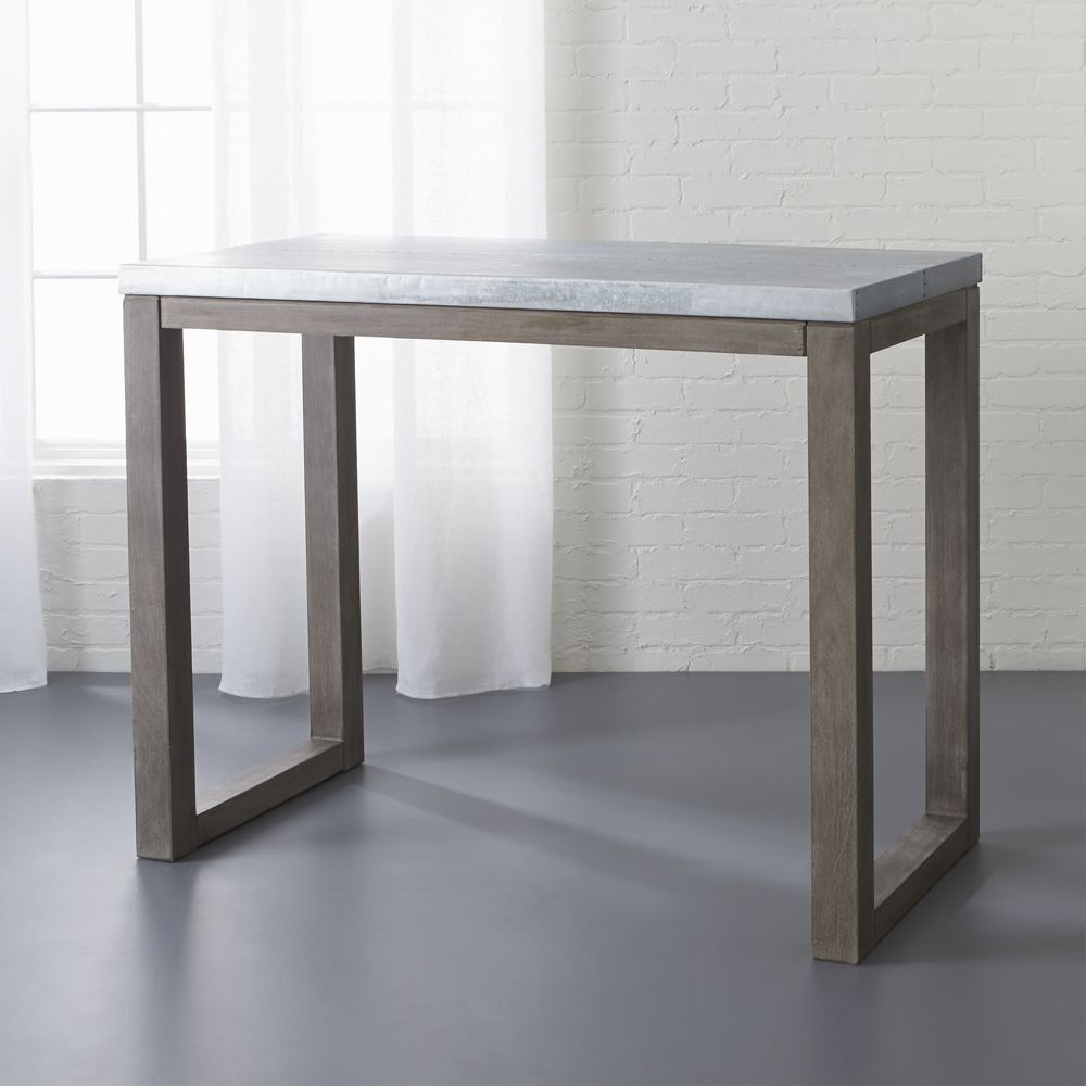 CB January Catalog Stern Counter Table First Apartment - Cb2 kitchen table